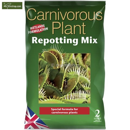Carnivorous Focus Repotting Mix