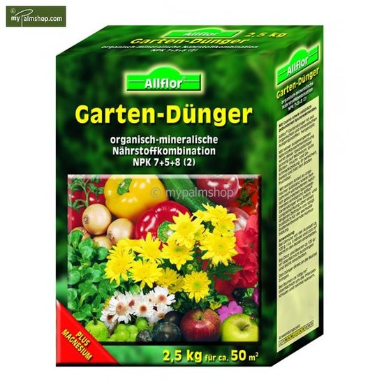 Allflor tuinmest 2,5 kg