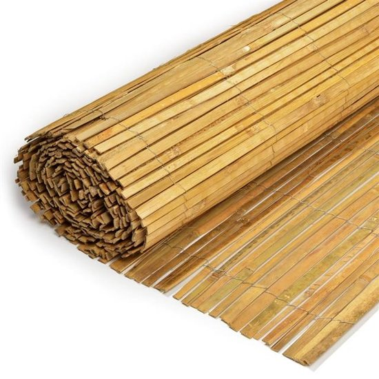 Bamboe mat, gespleten 200cm x 500cm [pallet]