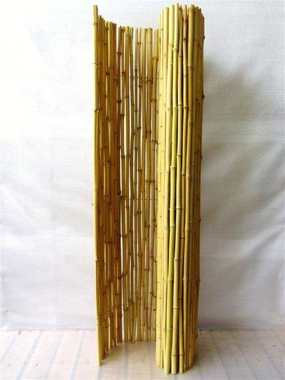 Bamboe Rolscherm naturel 180 x 180 cm [pallet]