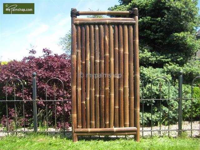 Bamboescherm Teppan 90cm x 180cm BLACK [pallet]