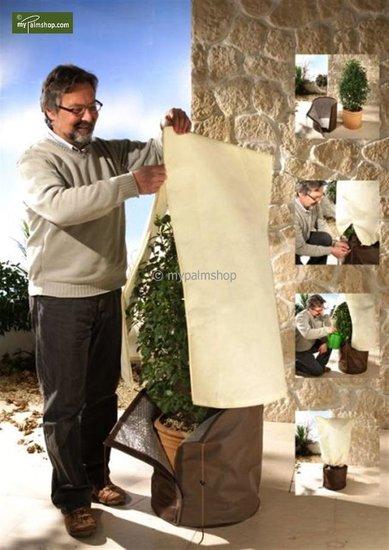 Winterbescherming voor planten vierkant 100 x 80 cm