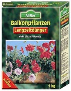Balkonplantenmest voor lange termijn